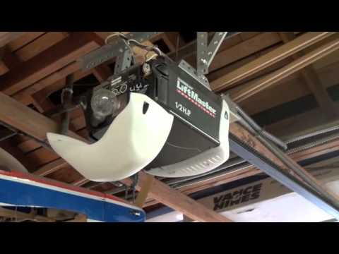 How to locate the learnprogram button on your garage door