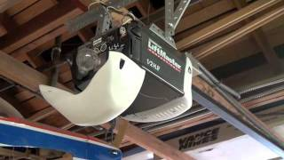 how to locate the learn program button on your garage door opener
