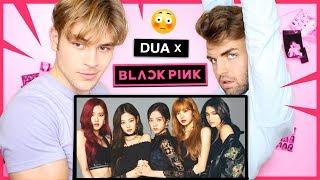 "Reacting to Blackpink feat. Dua Lipa!! ""Kiss and Make Up"""
