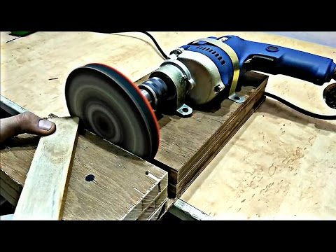 how to build a disc sander