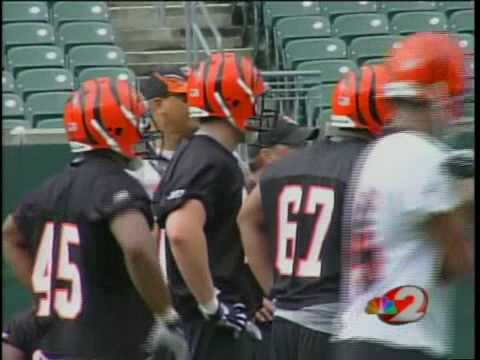 Local Players Tryout for Bengals