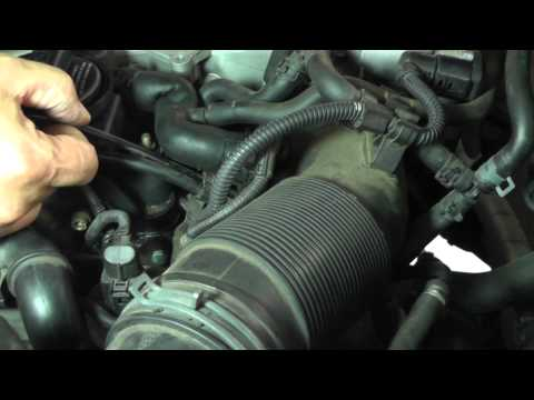 Volkswagen Jetta Secondary Air Injection Diagnosis Part 8 (Understanding Components on Car)