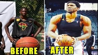 Joel embiid workout body transformation  | nba 2015-2016 season