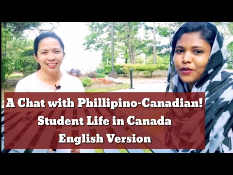 Student Life Of A Mom In CANADA! Chat With Philippine-Canadian! English Version