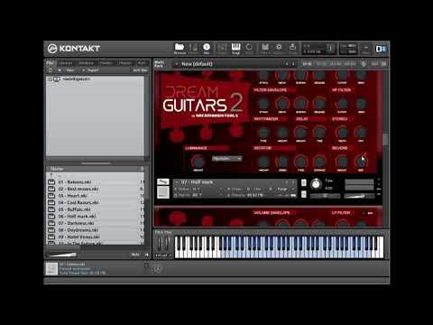 Dream Audio Tools Dream Guitars 2 KONTAKT - Freshstuff4you