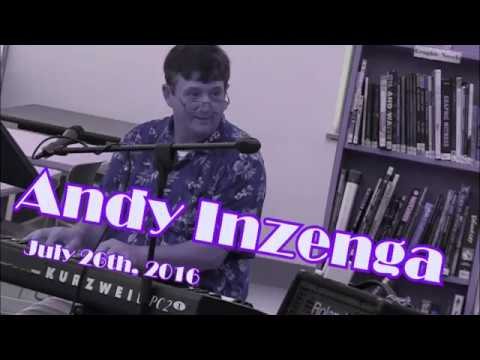 Andy Inzenga at the Exeter Public Library