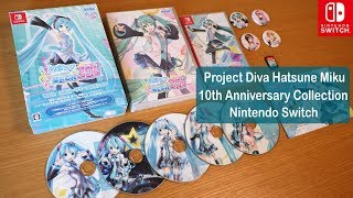 Project Diva Hatsune Miku [Switch]|10th Anniversary Collection【UNBOX + Gameplay + First Impressions】
