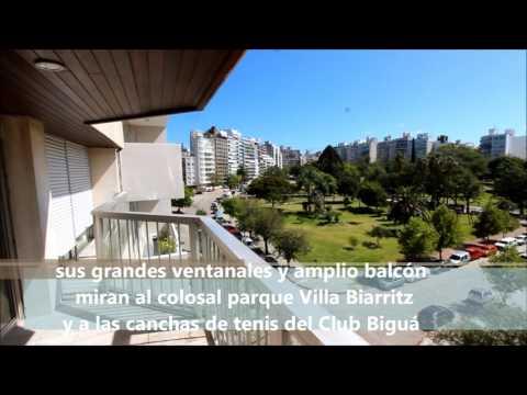 AlquilApto.de lujo Villa Biarritz, 200 m2 3 dorm + serv. sobre Leyenda Patria