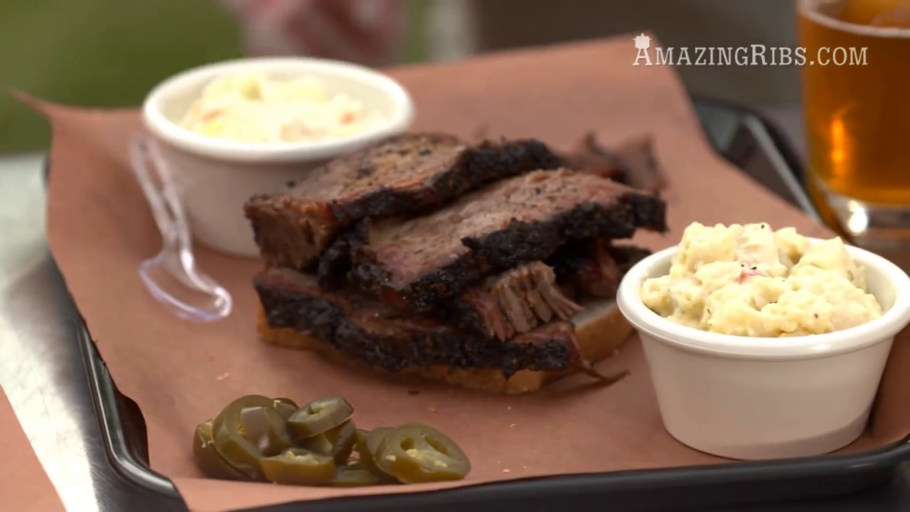 Smoked Beef Brisket Recipe And