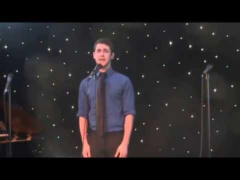 Zach Miller performing Santa Fe at Cabaret for Life's ten year anniversary concert. 5-18-14