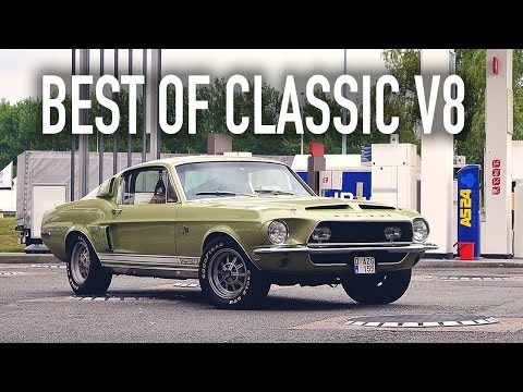 10 Of The Best Sounding Classic V8 Engines
