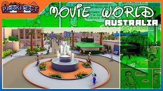 Movie World Australia | Parkitect Cinema 4Kᵁᴴᴰ