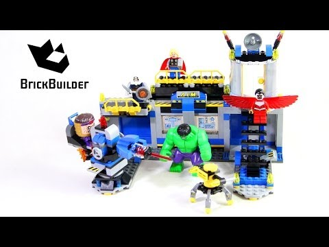 Lego Super Heroes 76018 Hulk Lab Smash - Lego Speed Build from YouTube · Duration:  6 minutes 10 seconds  · 684.000+ views · uploaded on 22-3-2014 · uploaded by Brick Builder