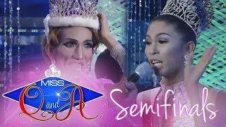 It's Showtime Miss Q & A Semifinals: Jeraldine Hawthorne vs. Odessa Jones | Di Ba Teh? Ganern!