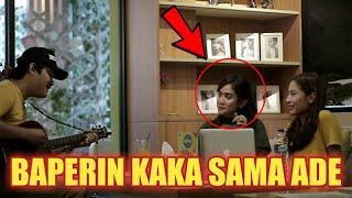 Download lagu GEMESIN !! KAKA ADE CANTIK INI BAPER SAMPAI MELELEH