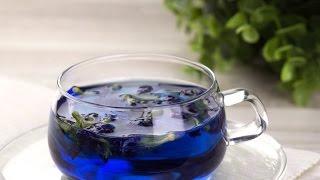 Тайский синий чай. Окрашиваем водку!