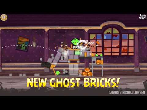 "Halloween with Angry Birds Seasons ""Haunted Hogs"""