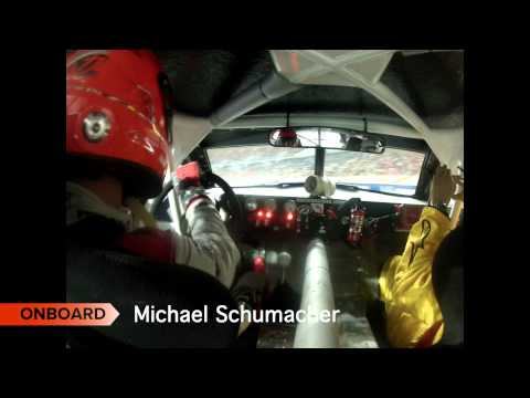 RACE OF CHAMPIONS Michael Schumacher Onboard cam - Bangkok 2012