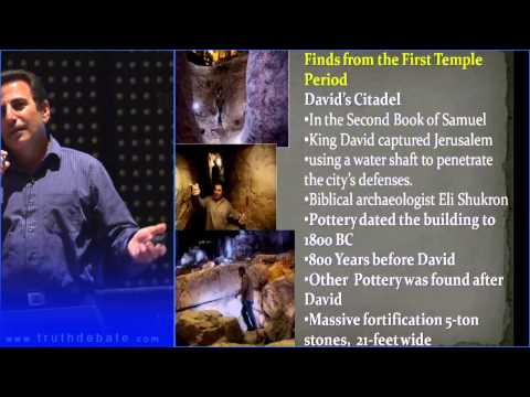 The Stones Cry Out 9B King David and the First Temple Period Evidence