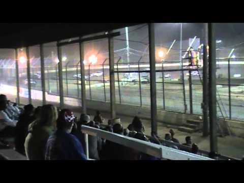 Kankakee County Speedway Street Stock Feature race 8/16/13 part1,video/RGBuss