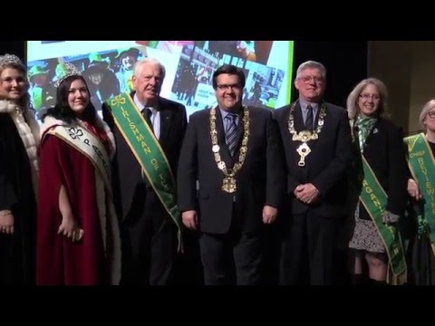 The details of the 193rd Montreal St Patrick's parade