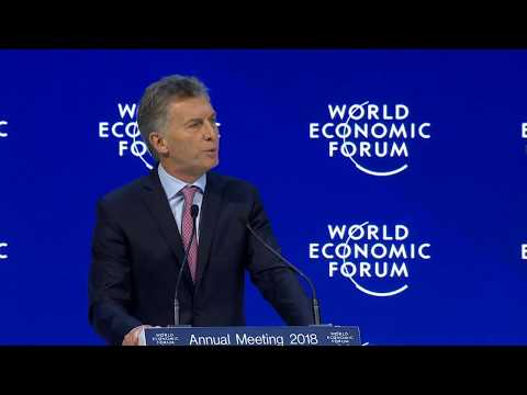 Special Address by Mauricio Macri, President of Argentina and Chair of the G20