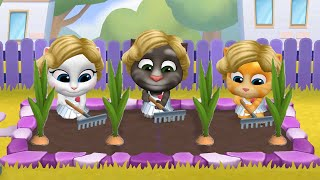 MY TALKING TOM FRIENDS 🐱 ANDROID GAMEPLAY #77 -TALKING TOM AND FRIENDS BY OUTFIT