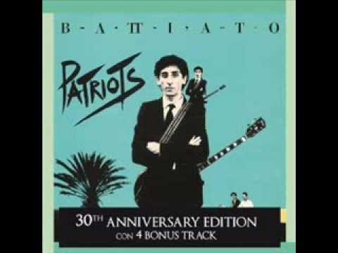 Franco Battiato 11 Up Patriots To Arms Instrumental