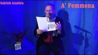 a f emmena poesia di gabriele acanfora
