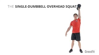 The Single-Dumbbell Overhead Squat