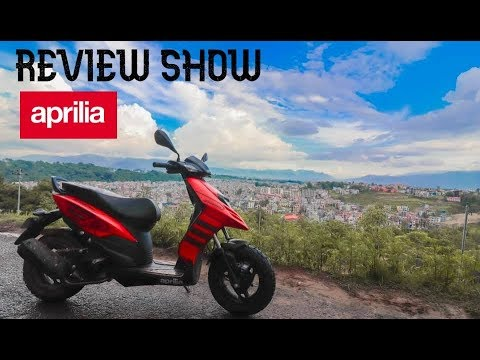APRILIA STORM TEST RIDE AND REVIEW