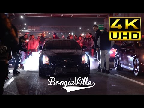 Uber Cadillac CTSV vs Pro Charged Pontiac G8 UHD