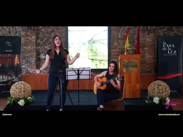 Quiereme Nuria Fergo cantante y guitarra