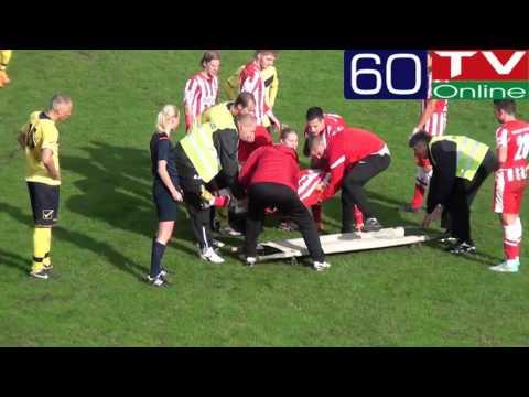 Súlyos sérülés az FC-Hatvan - DVTK II mérkőzésen