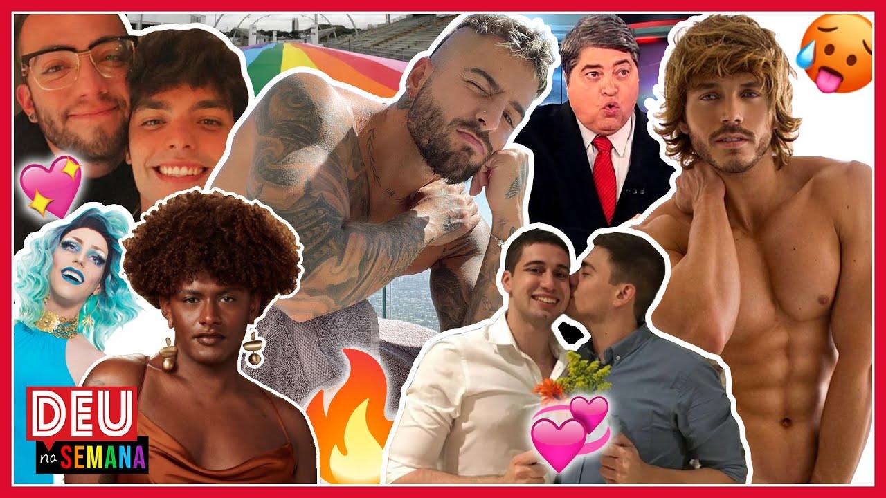 Homofobia: Padre X casal da Globo | Datena tira gay do armário | Lucas Rangel do Vale- Deu Na Semana