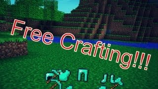 Repeat youtube video Minecraft Pocket Edition 0.7.1- Free Crafting Mod!