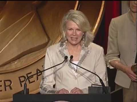 Candice Bergen - Boston Legal - 2005 Peabody Award Acceptance