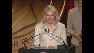 Candice Bergen - Boston Legal - 2005 Peabody Award Acceptance