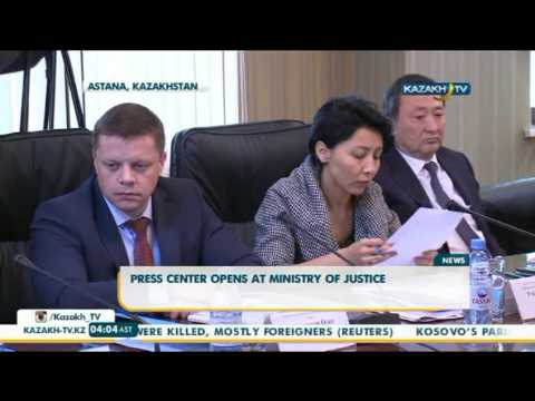 The Ministry of Justice of Kazakhstan opened its own press center - Kazakh TV
