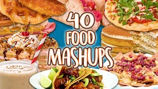 40 Food Mashup Recipes | Super Comp | Well Done