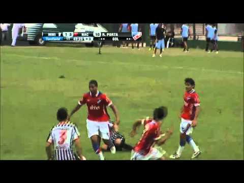 Miramar Misiones 1-4 Nacional HD Resúmen completo con goles ||Uruguay 12.08.2013||