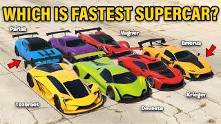 GTA 5 ONLINE: TEZERACT VS DEVESTE VS X80 PROTO VS PARIAH VS CYCLONE VS KRIEGER VS VAGNER VS EMERUS