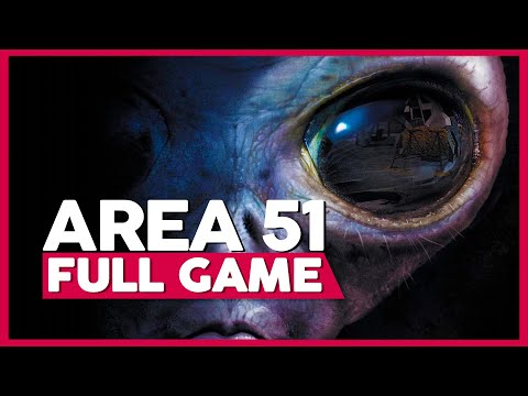 Area 51 | Full Playthrough  (PC | 1080p | 60FPS | No Commentary)