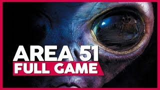 Area 51 | Full Gameplay/Playthrough | PC 60fps | No Commentary