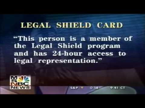 MSNBC - Prepaid Legal Services - Legal Shield