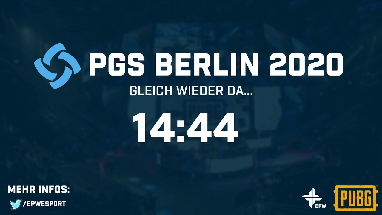 PGS 2020 Berlin - PUBG Global Series - Qualifier - Official German Stream /w Buddy & Chilly