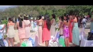 Home Sweetie Home in Dakak_dream Beach Wedding episodes BTS (Official RGJ avp)