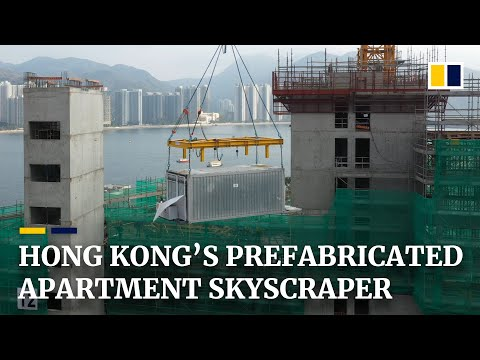 Prefabricated flats quickly