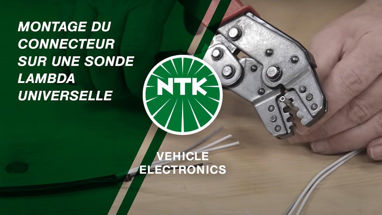 montage du connecteur sur une sonde lambda universelle