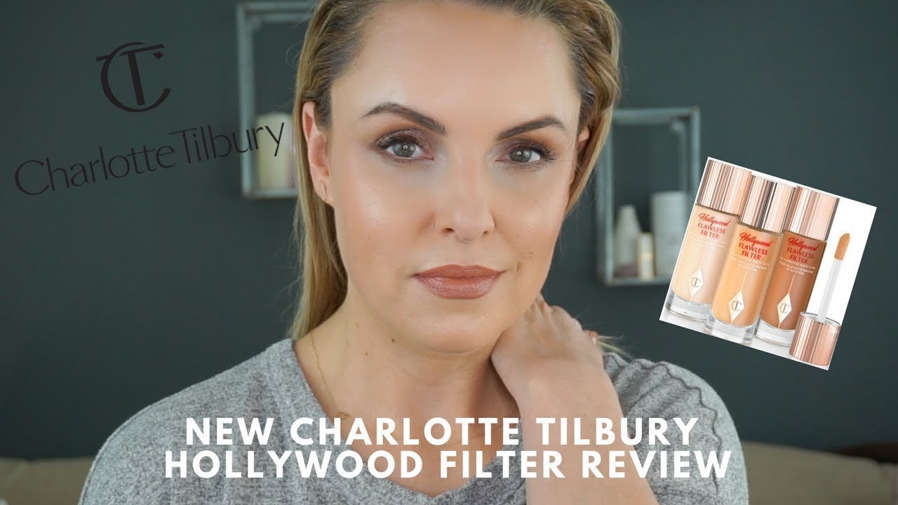 NEW Charlotte Tilbury Hollywood Flawless Filter Review - Elle Leary Artistry